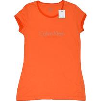 Camiseta Calvin Klein Logo Ringer New York