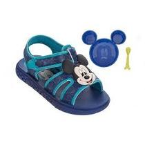 Mickey E Minnie Gourmet Sandália Papete Disney 21323