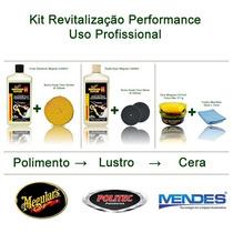 Kit Profissional Para Polimento Automotiva Meguiares.