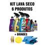 Kit Lava Seco Autoshine 6 Produtos + 2 Panos + Brindes