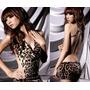 Mini Vestido Leopardo [ Lingerie Sexy Sensual ]