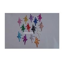 Bailarina Em Eva Com Glitter - 5 Cm (50 Unidades)