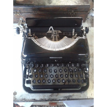 Linda Maquina De Escrever Remington Rand Decada 40