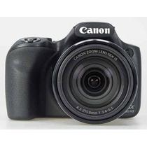 Câmera Canon Sx530 Hs Zoom 50x Wi-fi + Bolsa+ Tripé+ Cartão