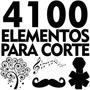 4100 Elementos Basicos Para Corte Silhouette Svg Dfx Vetores