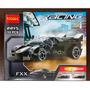 Carro De Corrida Preto Racing Decool Compatível Com Lego