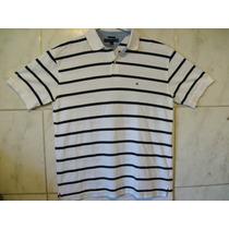 Camisa Polo Tommy Hilfiger Listrada Piquet Xl 80cmx 60cm Xgg