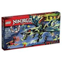 Brinquedo Bloco Lego Ninjago Ataque Do Dragão Moro 70736