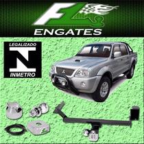 Engate Reboque L200 Sport Outdoor 03 Até 14 Removível 450kg
