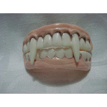 Dentes De Vampiro Presas Silicone Para Adulto