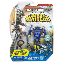 Transformers Beast Hunters Deluxe Soundwave