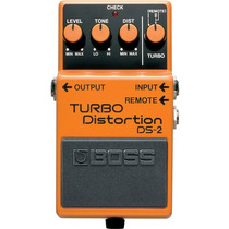 Boss Turbo Distortion Ds-2: Pedal De Distorção P/ Guitarra