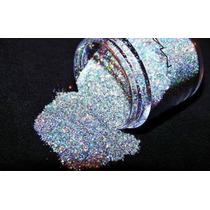 Fração Glitter 3d Mac Silver