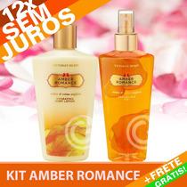 Kit Creme + Splash Amber Romance Victoria´s Secret 250ml
