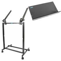 Rack Ask M19 P/ Mesa De Som Estúdio Potencia + Bandeja Pmx