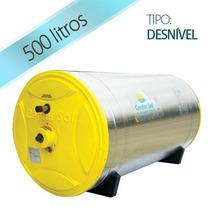 Aquecedor Solar 500 Litros Inox - Boiler