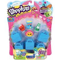 Shopkins - Blister Kit Com 5 Shopkins - Dtc