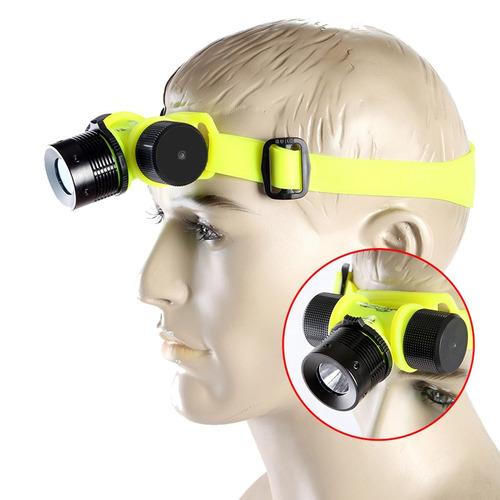 Lanterna cabe a cree led q5 17000l 6000w prova gua - Linternas de cabeza ...