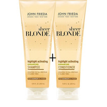 Kit John Frieda Sheer Blonde Shampoo + Condicionador 250ml -