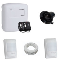 Kit Alarme Residenciais 2 Sensores- Sem Bateria Ecp