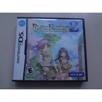 Nintendo Ds - Rune Factory 2 A Fantasy Harvest Moon Original