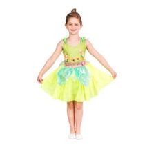 Fantasia Infantil Sininho - Tinker Bell Com Asas. Disney.