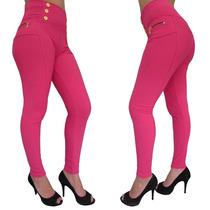 Calça Feminina Montaria Modelo Estilo Jeans Tecido Gorgurão