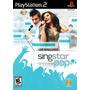 Game Singstar Pop Playstation 2 | Músicas: Avril L. Britney