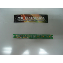 Placa Teclado 3106 103 30241 - Philips 32pfl3404/78