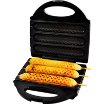 Crepeira Hot Dog Elétrica Antiaderente Máquina De Crepe 127v