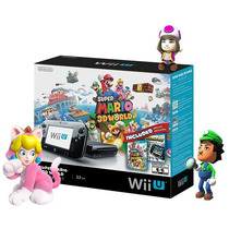 Nintendo Wii U Deluxe 32gb Mario 3d World + Nintendo Land