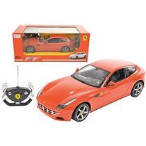 Carro De Controle Remoto Ferrari Ff Vermelha 1:14 - Cks