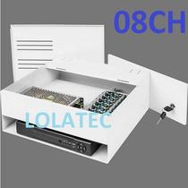 Rack Organizador Box Prof. P/ Dvr 8 Canais 8 Cameras C/ Cabo