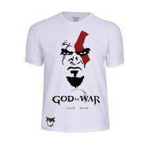 Camisas Game God Of War Jogos Personalizada Video Game Ação