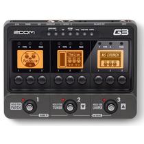 G3 Pedaleira Zoom G3 Usb Superior G2nu G2.1nu + Fonte Nova
