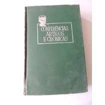 Livro Conferências Artigos Crônicas Monteiro Lobato 1961