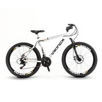 Bicicleta Quadro 19 Vikingx Aro 26 21v Kit Shimano Disco