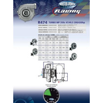 Turbina Masterpower Racing Refrigerada Agua R474 .50 Refluxo
