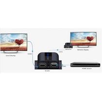 Extensor Controle Remoto Hdmi 1080p Cat6 Divisor Embutido
