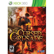 Jogo Xbox 360 The Cursed Crusade Original E Lacrado