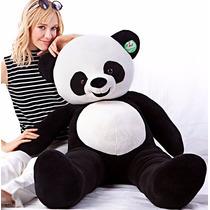 Urso Panda De Pelúcia Grande Gigante 120cm 1,2m Frete Gratis