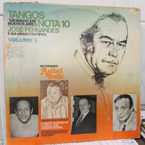 Lp José Fernandes Tangos Nota 10 Ótimo Estado