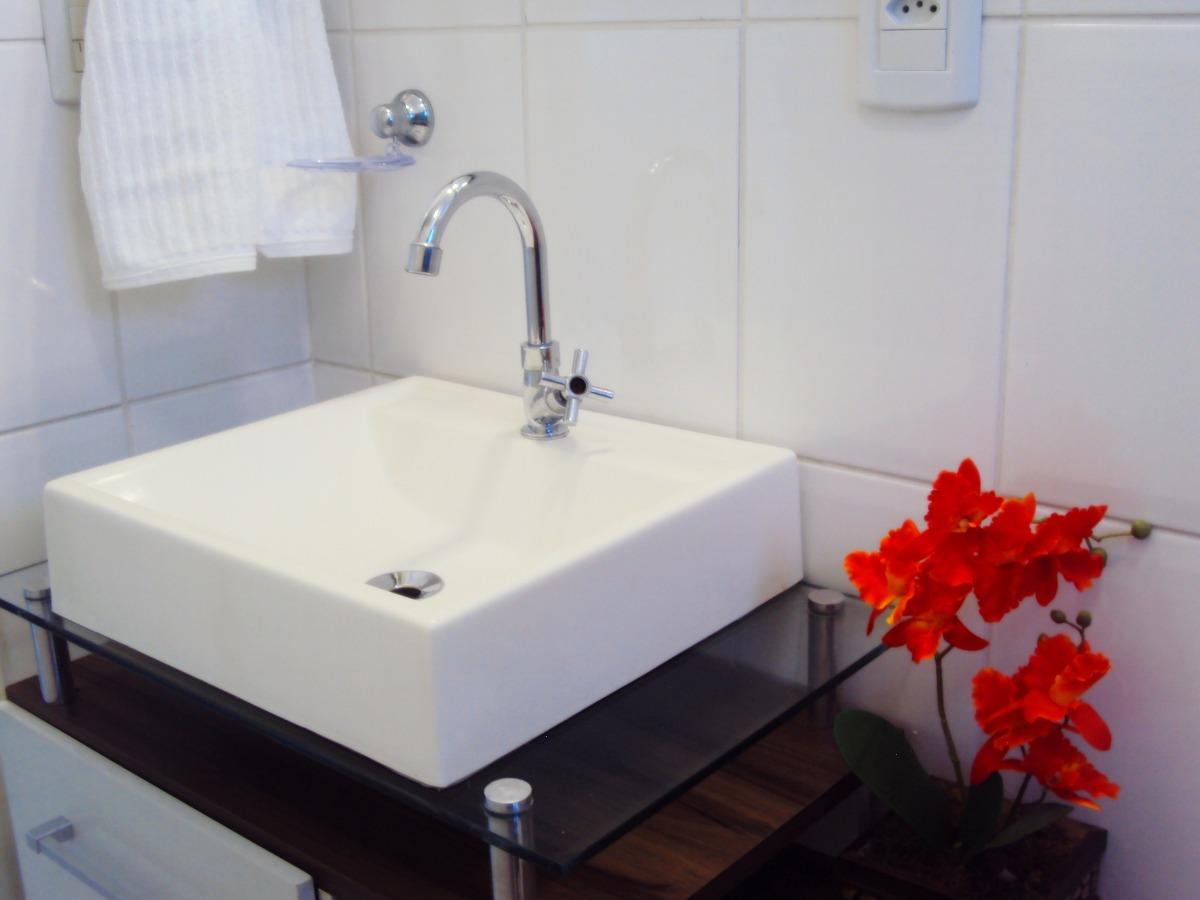 2 Unids Cuba Sobrepor Tendência Lavatório Para Banheiro  R$ 189,80 no Merca -> Cuba Banheiro Frete Gratis