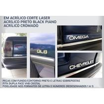 Letreiro Emblema Omega 4.1i Cd Cd Kit Completo Omega 4.1i