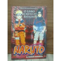 Mangá Naruto Guia De Personagens Livro Secreto Da Batalha
