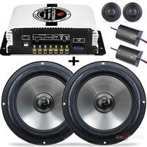 Kit 2 Vias Selenium 6 Jbl 120w + Módulo Amplificador Stetsom