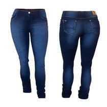 Linda Calça Jeans Feminina Skinny Lycra - Tamanho 40 Ao 48