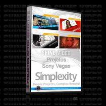 Projetos Editaveis Para Sony Vegas Volume 1 - Simplexity