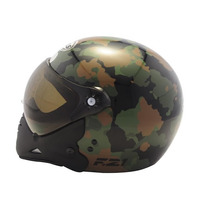 Capacete Peels F21 Soldier (camuflado) C/ 2 Viseiras Juntas