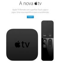 Apple Tv 32gb - 4 Geração Lacrada Pode Retirar Em Maos 12x